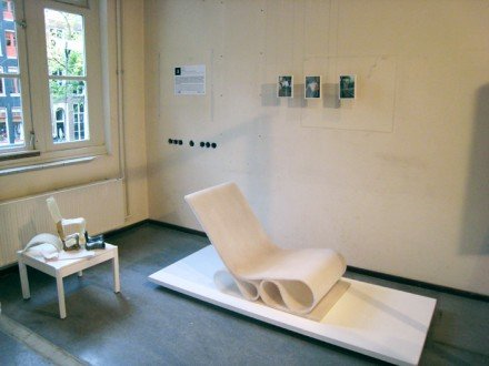 spacer chair exhibit